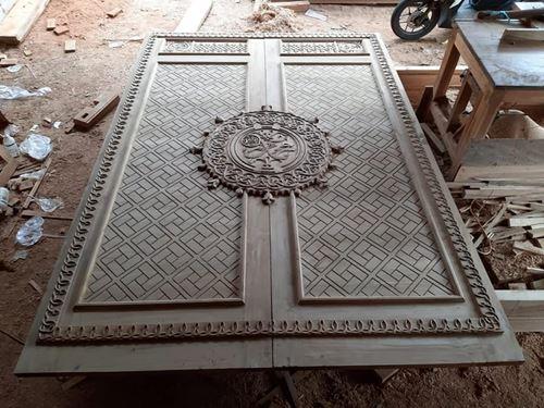 Contoh Pintu Nabawi Kayu Jati