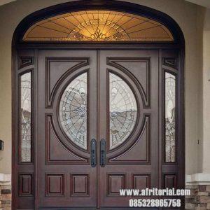 Daun Pintu Rumah Mewah Kupu Tarung Model Eropa