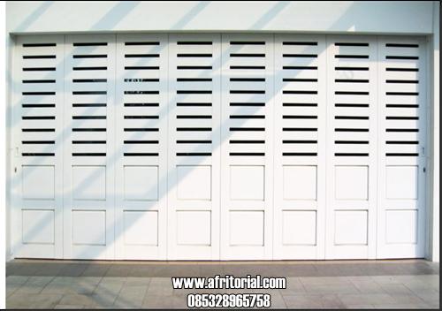Jual Pintu Garasi Minimalis Ca Duco Putih