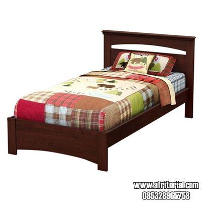 Jual Tempat Tidur Asrama dan Kos Murah Kayu Jati