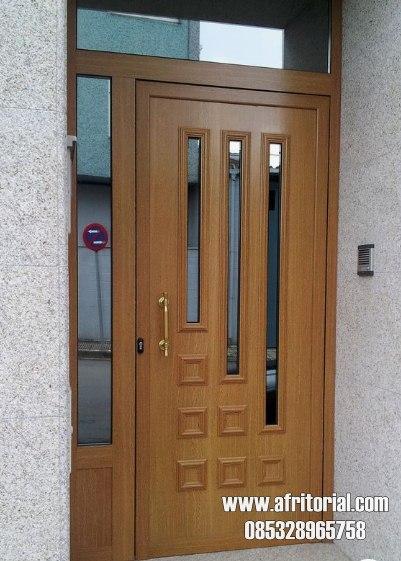 Model Kusen Pintu Rumah Minimalis & Ukir Terbaru 2020 Bahan Kayu Jati