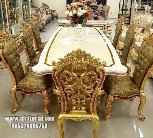 Meja Makan Mewah Model Klasik Eropa