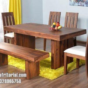 Meja makan minimalis sederhana