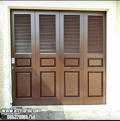 Model Pintu Garasi Minimalis Krepyak