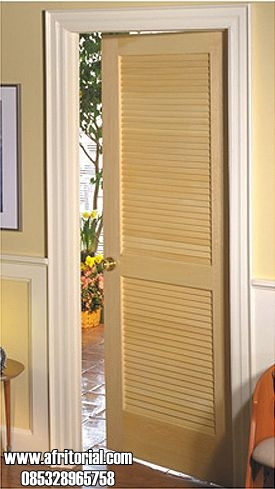 Pintu Kamar Tidur Model Krepyak Kayu Jati