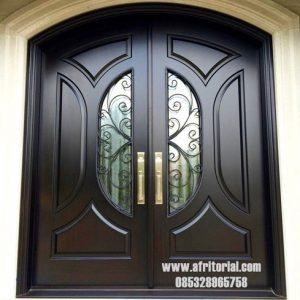 Pintu Kupu Tarung Modern Untuk Rumah Minimalis Masa Kini