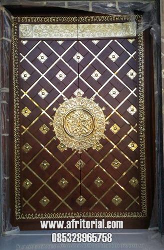 Replika Pintu Nabawi Kayu Jati