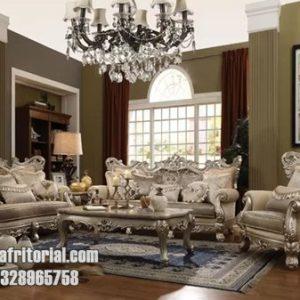 Set Kursi Tamu Sofa Victorian Mewah Eropa Style