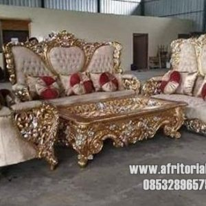 Sofa Kursi Tamu Royal Bellagio Ukir jepara