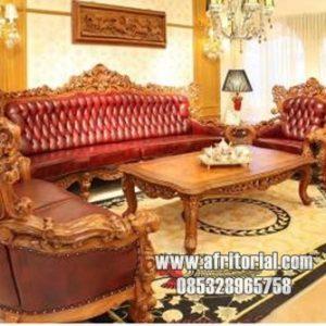 Sofa Kursi Tamu Ukir Mewah Virgina Royal Jumbo