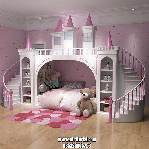 Tempat Tidur Istana Princess Terbaru Desain Mewah