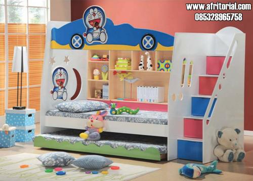 Tempat Tidur Tingkat Karakter Doraemon Model Terbaru