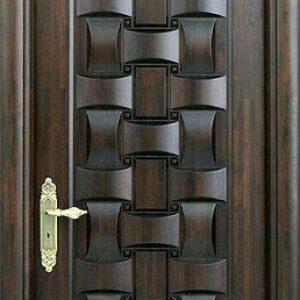kusen pintu kamar kayu solid model interior unik terbaru
