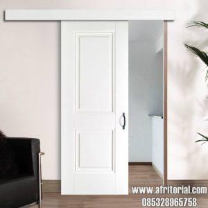 pintu kamar geser minimalis terbaru