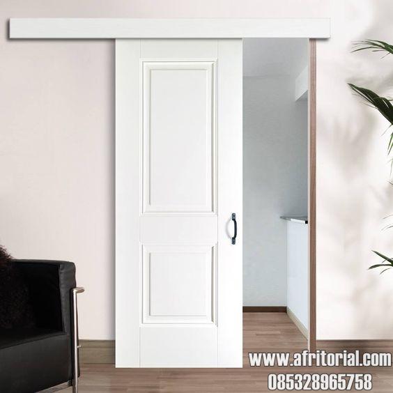 Pintu Kamar Geser Model Minimalis Terbaru Paling Populer