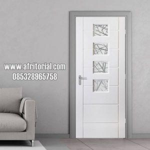 pintu kamar kayu minimalis pintu utama model empat shet kaca