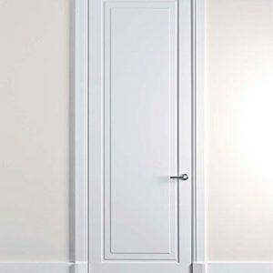 pintu kamar kost minimalis modern kayu