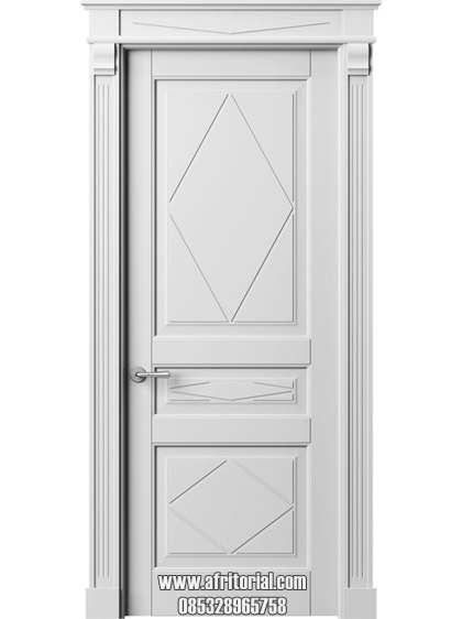 pintu kamar mewah kayu minimalis modern