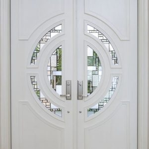 pintu minimalis kayu jati