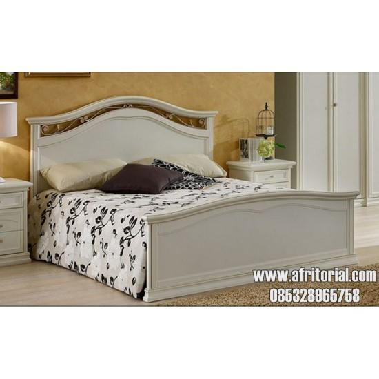 Dipan Tempat Tidur Murah Minimalis Warna Putih