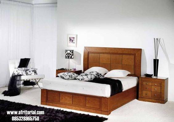 Tempat Tidur Jati Minimalis Terbaru Harga Murah