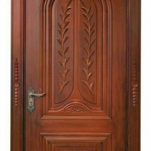 pintu hotel mewah termurah satu daun kayu jati