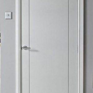 pintu kamar kost minimalis kayu mahoni harga murah
