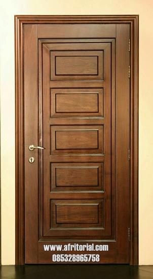 pintu kayu untuk kamar minimalis biasa