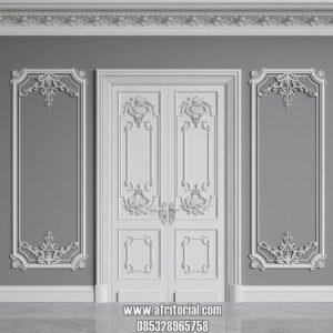 pintu utama mewah klasik ukir jepara