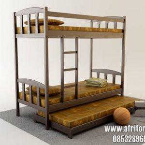 tempat-tidur-susun untuk kost, asrama, pesantren dan panti asuhan
