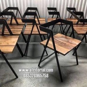 Kursi Cafe Industrial Kekinian Minimalis