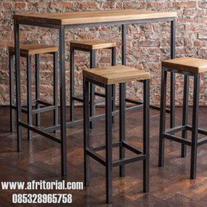 Meja Dan Kursi Industrial Terbaik Untuk Cafe
