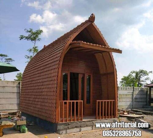 Model Rumah Kayu Minimalis Untuk Penginapan