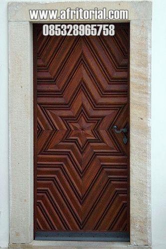 Pintu Bintang Model Terbaru Untuk Rumah Modern