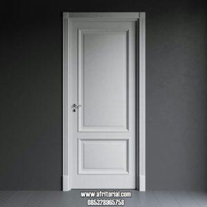 Pintu Kamar Hotel Minimalis Warna Putih Harga Murah