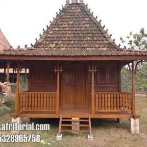 Rumah Kayu Jati Minimalis Untuk Home Stay Harga Murah