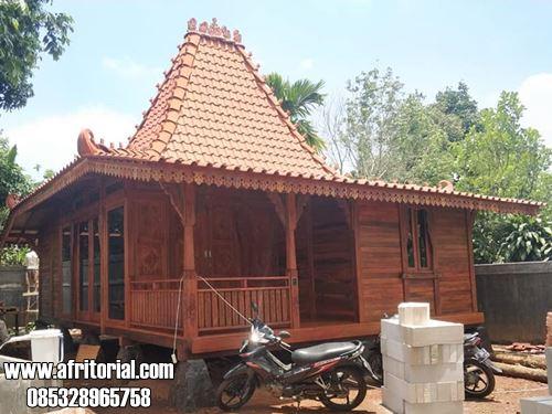 Rumah Kayu Minimalis Model Sederhana Harga Murah