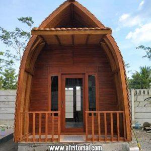 Rumah Lumbung Kayu Jati Untuk Villa