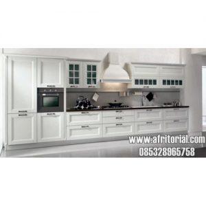 Dapur Minimalis Dengan Kitchen Set Mewah Jepara Kayu Alami