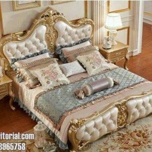 Jual Tempat Tidur Set Bandung Model Ukir Mewah