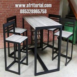 Kursi Meja Cafe Kopi Furniture Industrial Jakarta Trembesi