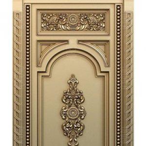 Pintu Jati Ukir Jepara Model Klasik Dengan Kusen