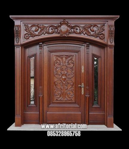 Pintu Kayu Ukiran Jepara Harga Mahal Untuk Rumah Mewah