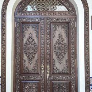 Pintu Masjid Ukiran Jepara Kayu Jati TPK