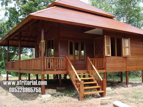 Rumah Kayu Jati Jepara Modern Dijual Murah