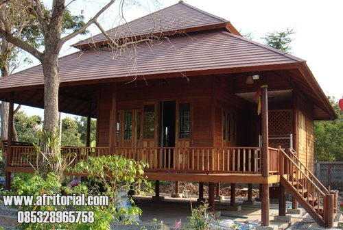 Rumah Kayu Murah Jepara Jati Tua