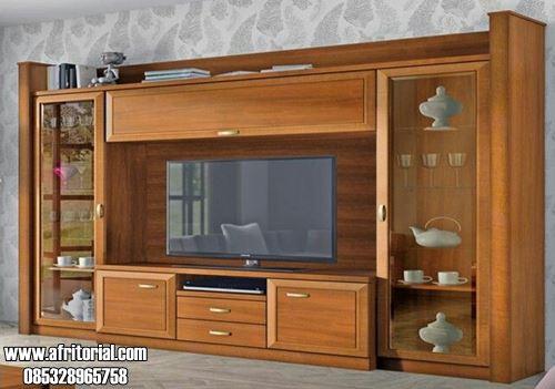 Bufet Tv Minimalis Modern Kayu Jati Jepara