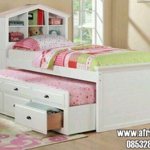 Tempat Tidur Anak Multifungsi Laci Sorong
