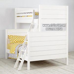 Tempat Tidur Kost Anak Tingkat Minimalis Murah
