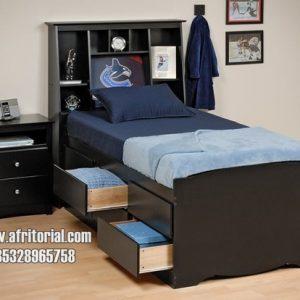 Tempat Tidur Minimalis Anak Laci Banyak